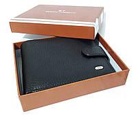 Чоловічий чорний гаманець Sergio Torri чорний, фото 1