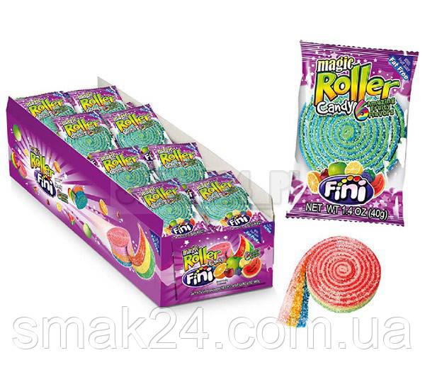 Желейні цукерки Fini magic Roller (фруктові) Іспанія 37р