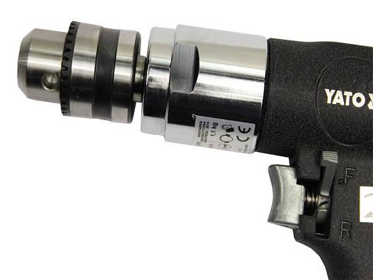Пневмодрель пистолетная Yato YT-0970, фото 2