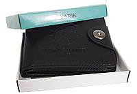 Чоловічий гаманець YARIK чорний, фото 1