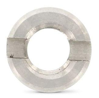 Нержавіюча гайка М10 кругла зі шліцом на торці DIN 546 (ГОСТ 10657-80)