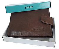 Чоловічий гаманець YARIK коричневий, фото 1