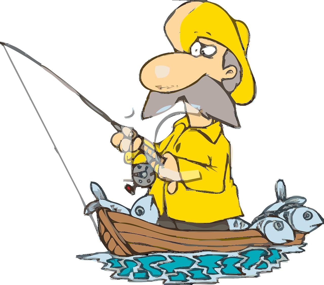 Вафельная картинка Рыбалка, рыбаку, с днём рыбака, для торта