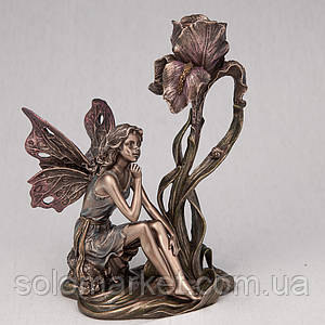 Підсвічник Veronese Фея з квіткою 20 см 10281 A4