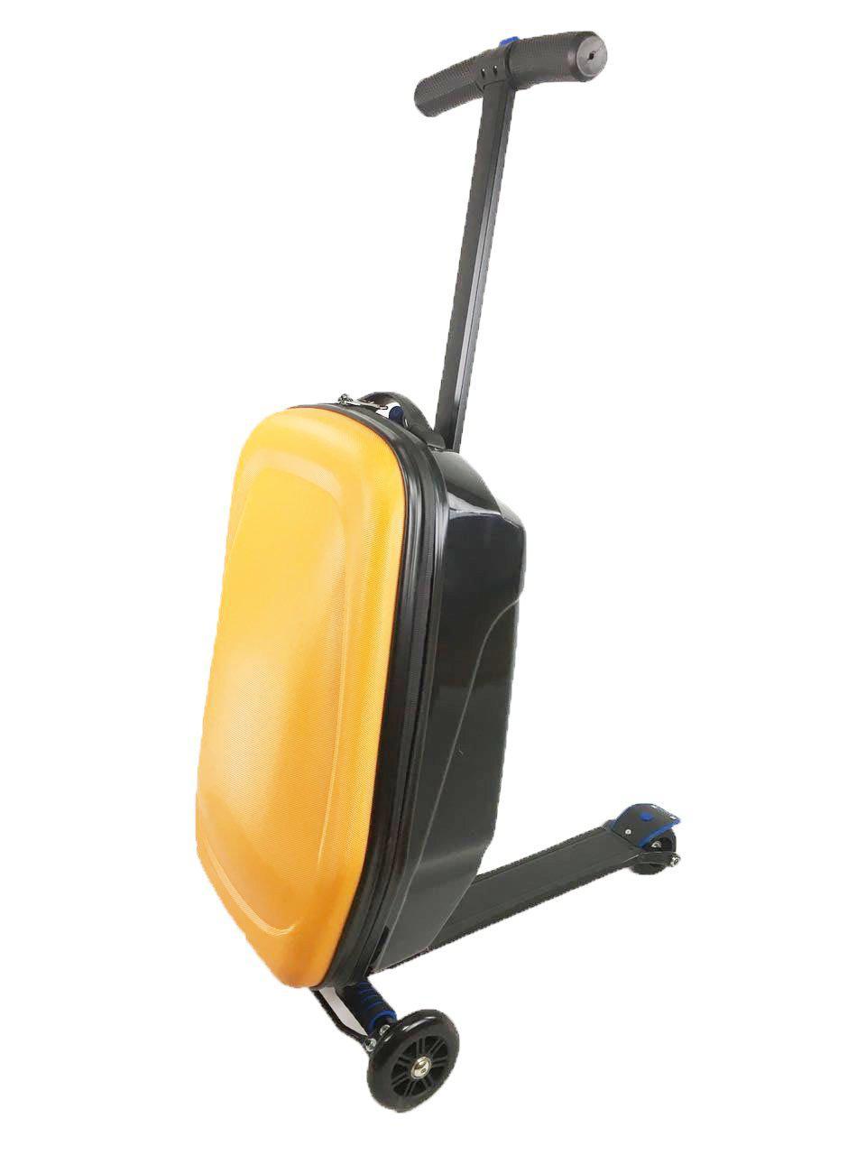Самокат-чемодан StreetGo Оранжевый