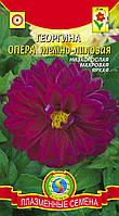 Семена цветов  Георгина Опера Тёмно-лиловая 11 шт лиловые (Плазменные семена)