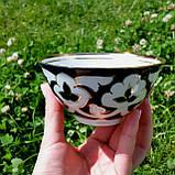"Пиала чайная ""ПАХТА"" ~250 мл, d 11.5 см. Узбекистан, фото 6"