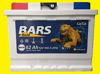 Автомобильный аккумулятор BARS Gold 62Ач 550А (0) R