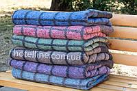 Полушерстяное одеяло hotelline 140х205 солдатское полуторное