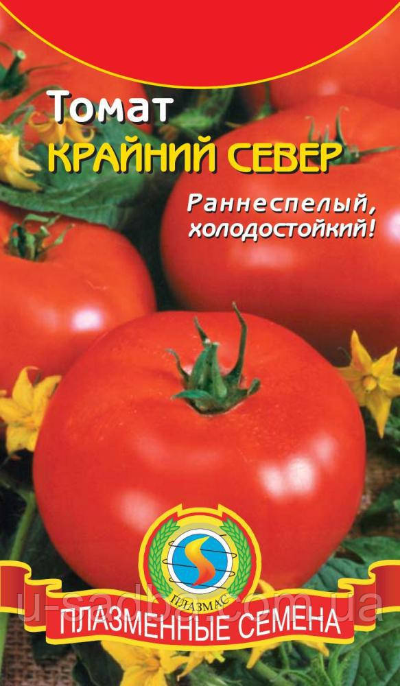 Семена томата Томат Крайний север 20 штук  (Плазменные семена)