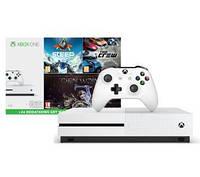 Игровая консоль Xbox One S 1TB + Средиземье: Тень войны + Steep + The Crew + XBL 6 месяцев