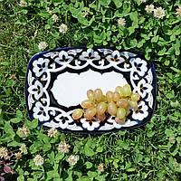 """Хлебница прямоугольная """"ПАХТА""""  22.5 см. Узбекистан"""