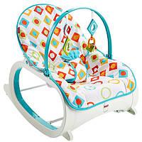 Кресло качалка шезлонг Бриллиант Fisher-Price Infant-to-Toddler Rocker