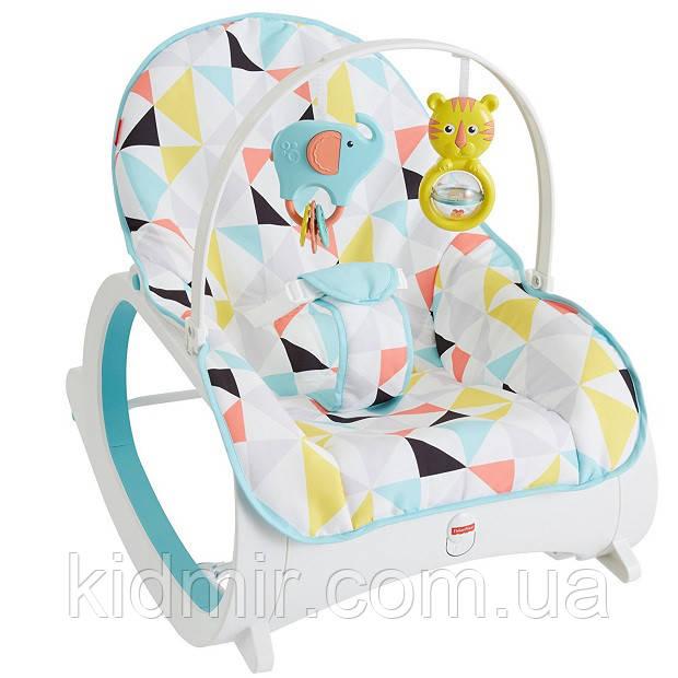 Кресло качалка шезлонг Мультиколор Fisher-Price Infant-to-Toddler Rocker