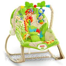 Детское кресло качалка Фишер прайс Тропические друзья Rainforest Friends