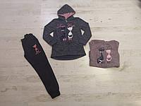 Трикотажный костюм для девочек оптом, Sincere, 116-146 рр., фото 1
