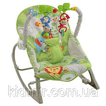 Кресло-качалка с вибрацией Веселые друзья Ibaby