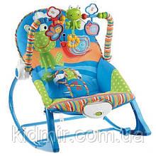 Кресло-качалка с вибрацией Лягушонок Ibaby