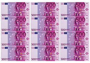 Вафельная картинка Деньги, для торта