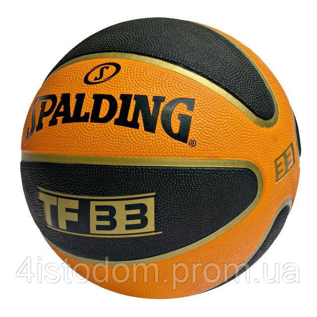 Баскетбольный мяч для стритбола 3х3 Spalding TF-33 (6)