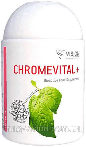 Хромвитал+ - энергия организма. Нормализует уровень сахара в крови