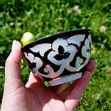 "Пиала чайная ""ПАХТА"" ~250 мл, d 11.5 см. Узбекистан, фото 7"