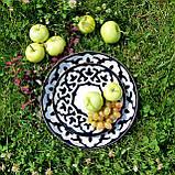 """Тарелка порционная """"ПАХТА"""" d 19 см. Узбекистан, фото 2"""