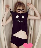 Пижама Smile черного цвета №36