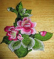 """Яркая  вышивка """"Суданская роза"""" от студии LadyStyle.Biz, фото 1"""