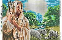 Вишивка бісером ікона Ісус Пастор