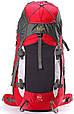 Рюкзак туристический Onepolar W1702-red красный 45 л, фото 3