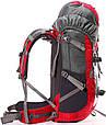 Качественный рюкзак туристический 45 л. Onepolar W1702-red красный, фото 5