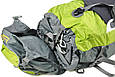 Рюкзак туристический Onepolar W1702-red красный 45 л, фото 8