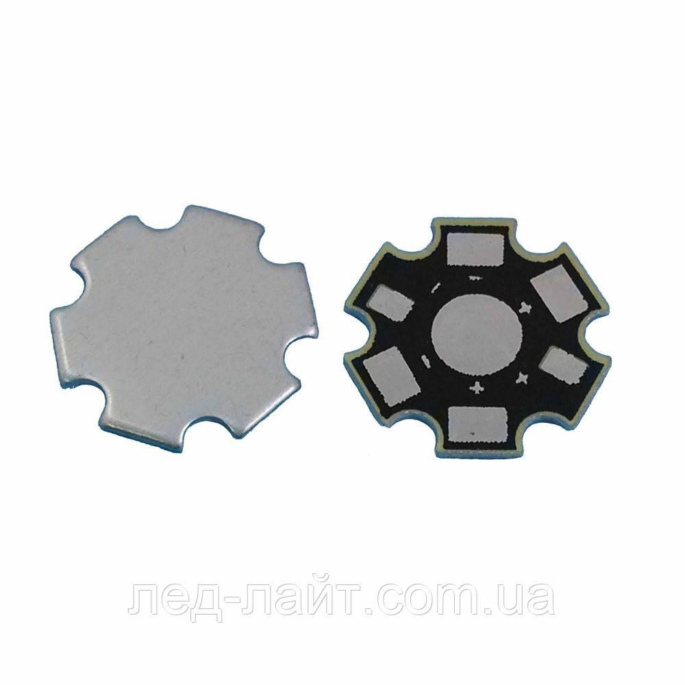 Плата алюмінієва (підкладка) 1хLED 20мм