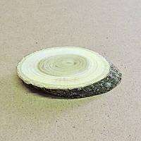 Срез (спил) шлифованный косой 5-6см