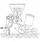 Установка системы внесения удобрений на сеялку Мультикорн СК