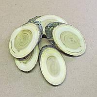 Срез (спил) шлифованный косой 6-7см