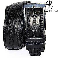 Ремень мужской брючный заменитель Alon 35 мм - купить оптом в Одессе