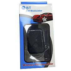 Авто FM модулятор s6  + Bluetooth, фото 3