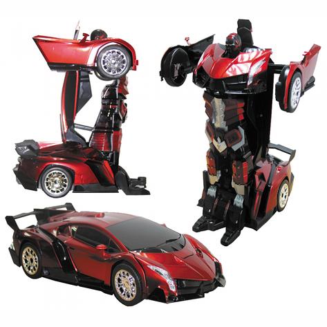 Радиоуправляемая машинка-трансформер Transforms Changeable Force Ares Lamborghini, фото 2