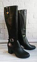 Высокие кожаные сапоги. Обувь Vistani., фото 1