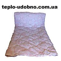 Полуторное льняное одеяло стёганное 150/210