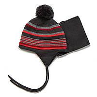 Зимний комплект: шапочка + манишка на мальчика (Р.: 12/24М, 2/3) ТМ Peluche&Tartine F17 ACC 03 BG