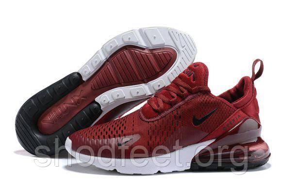 Мужские кроссовки Nike Air Max 270 Wine Red
