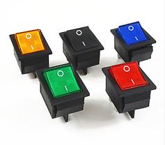 Перемикачі клавішні широкі