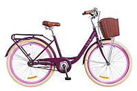 Велосипед 26-039 Dorozhnik LUX 14G 17 Сливовий