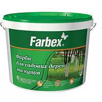 Краска для побелочных работ 4 кг Farbex