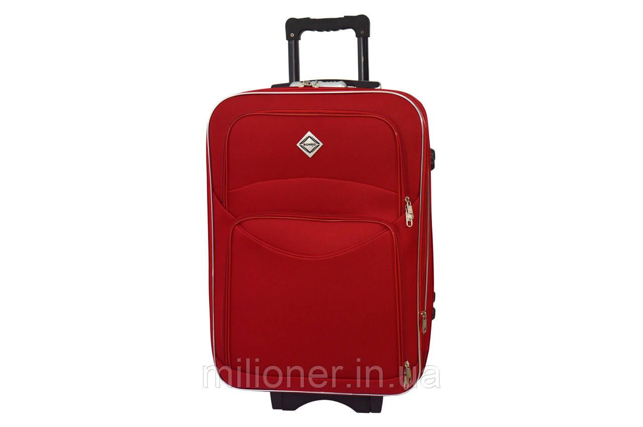 Чемодан Bonro Style (средний) красный