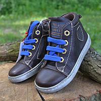 Кожаные Ботинки от бренда Shoesmeр 25, ортопедическая детская обувь