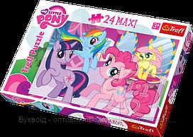 Пазлы Trefl MAXI 24шт (14182) 48*34 см (My little Pony)
